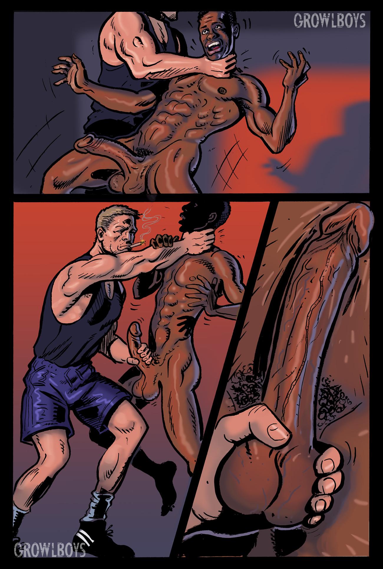 Forced Comic Porn freak juice | growlboys gay transformation porn
